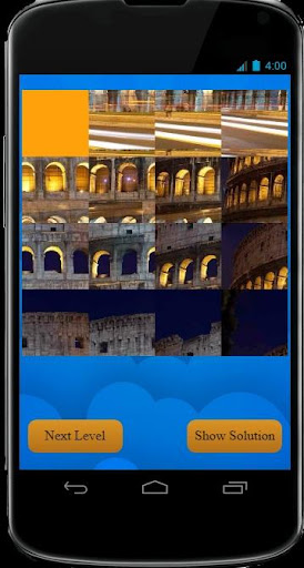50 level Picture Puzzle Game