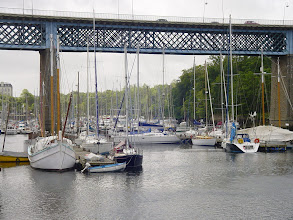 Photo: The harbor here consists mainly of pleasure craft. The working harbor is in another part of town.