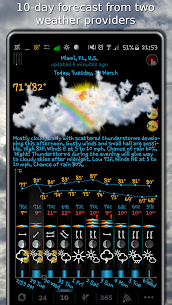 eWeather HDF – weather, alerts, radar, hurricanes 8.0.4 Android APK Mod 1