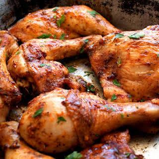 Oven Baked Peri Peri Chicken.