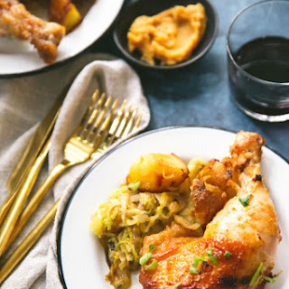 Roasted Miso Butter Chicken.