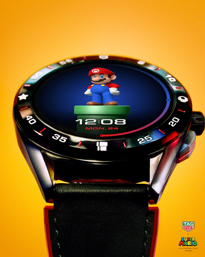 Itsa me! A cynical effort to cash in on Gen X/Millennial nostalgia by placing a beloved character on an expensive smart watch!