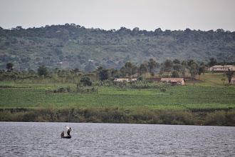 Photo: Lake Victoria, near the source of the Nile