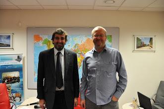 Photo: Rozhovor s majitelem Student Agency a RegioJet Radimem Jančurou (středa 7. prosinec 2011).