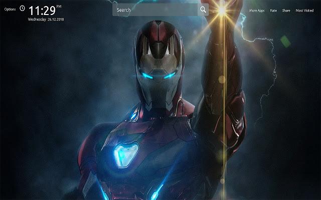 Avengers Endgame Wallpapers Theme New Tab