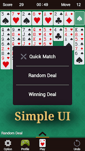 FreeCell 1.33 screenshots 4