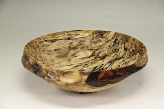 "Photo: Richard Webster 9"" x 3"" bowl [spalted maple]"