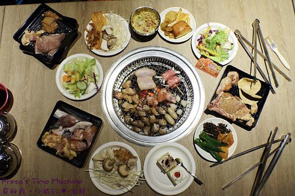 燒肉王:全小琉球第一家無煙燒烤占地大.海鮮肉類燒烤吃到飽.新穎空間聚餐好去處/打卡送生蠔【屏東小琉球】