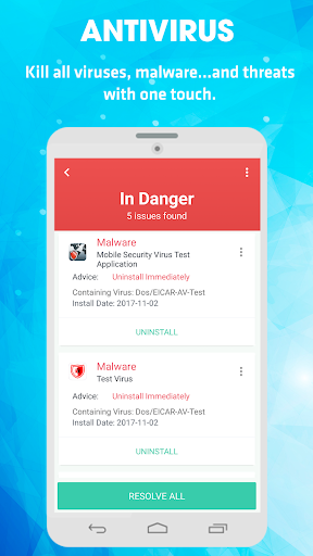 Antivirus & Virus Remover (Applock, Accelerator) 1.1.2 screenshots 9
