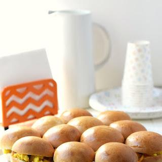 Breakfast Sausage Egg & Cheese Rolls