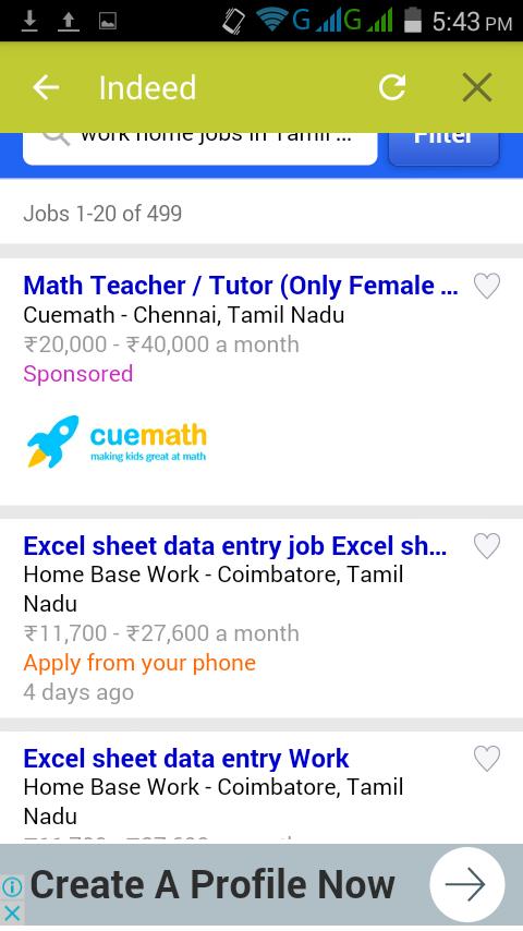excel online jobs