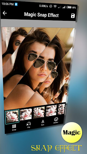 Magic Snap Effect - Photo Editor 1.5 screenshots 1