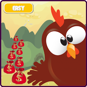Chicken Pou Adventure