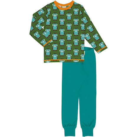 Maxomorra Pyjamas Set LS Robot