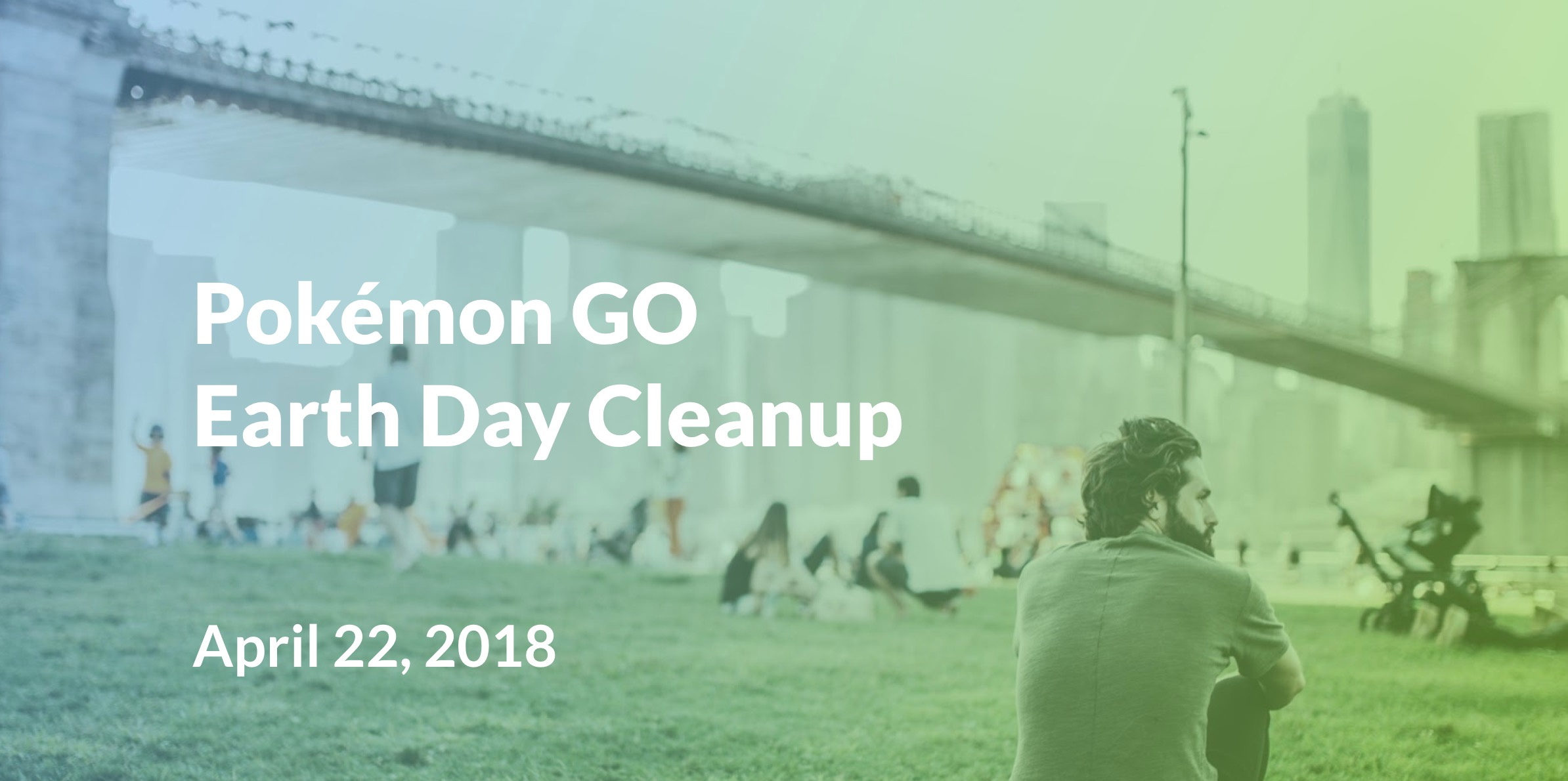 Pokémon GO Earth Day Cleanup