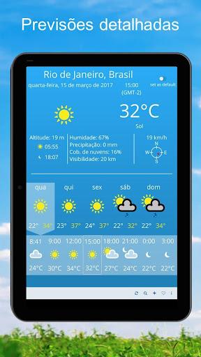 Clima ~ Previsão do tempo screenshot 4