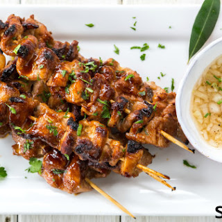 Pork Barbecue Skewers.