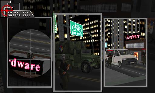 Crime City Sniper Killer 3D