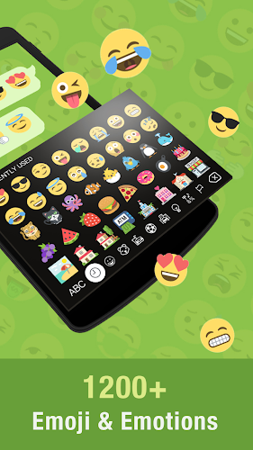 Hi Emoji Keyboard - Emoticons Android App Screenshot