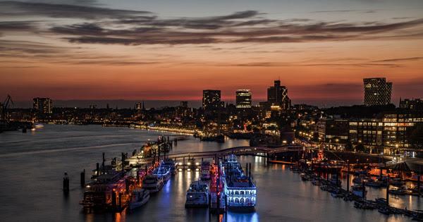 Морской порт Гамбурга