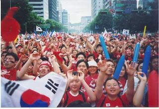 Photo: 2002.06.22 Immediately after Korea vs. Spain, World Cup Quarter Final