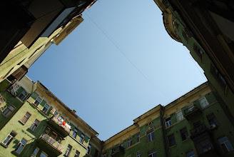 Photo: Редкий случай, когда по крыше дома можно обойти внутренний дворик по периметру