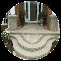 Concrete Front Steps Design icon