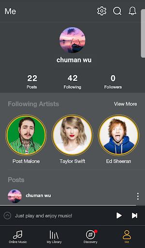 GO Music Player Plus - Free Music, Radio, MP3 screenshot 6