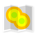 Cell Coverage Map - mobile network signal testing icon