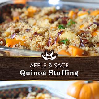 Apple and Sage Quinoa Stuffing.