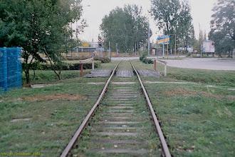 Photo: Dawna bocznica na Przedmieście Jakubskie {Toruń, ul. Skłodowskiej-Curie; 2003-09-24}