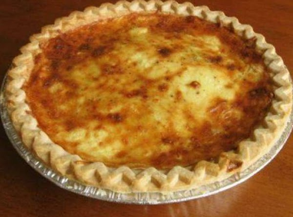 An Excuse For Cheese And Bacon Quiche Recipe