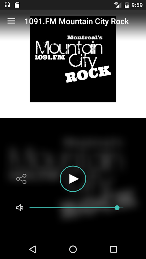 1091.FM Mountain City Rock- screenshot