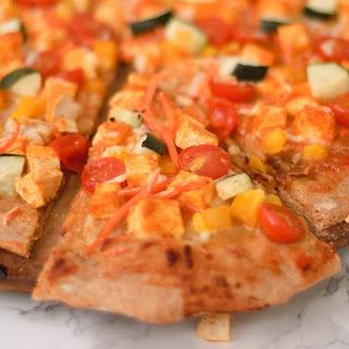 Thai Curry Pizza.