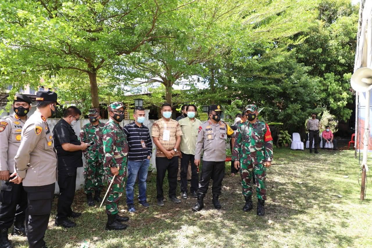 Kapolda Sumut dan Pangdam I/BB Cek Pelaksanaan PSU di Kab. Labusel