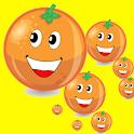 Orange Matching Game icon