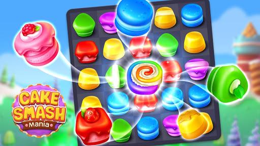 Cake Smash Mania - Swap and Match 3 Puzzle Game apkmr screenshots 8