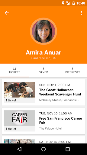 Eventbrite - Fun Local Events Screenshot