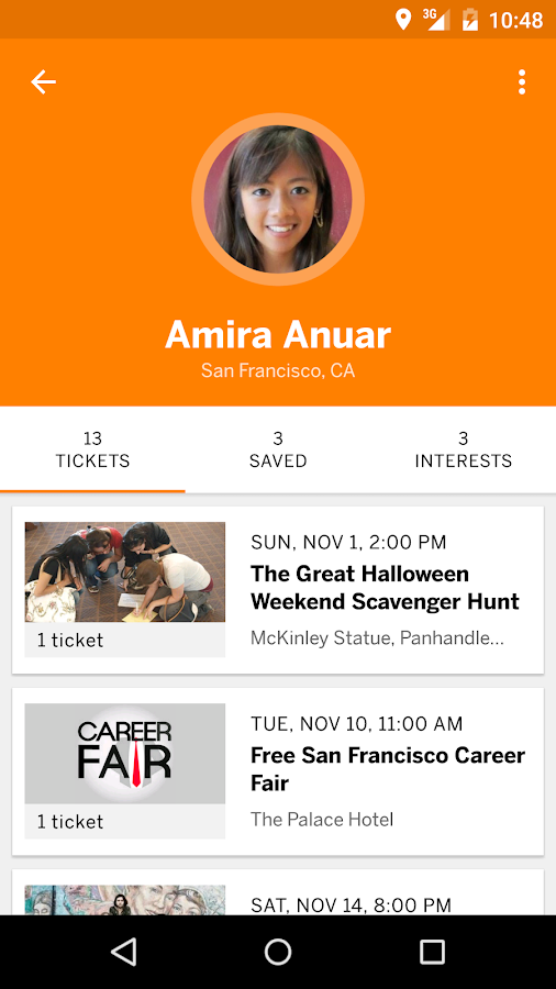 Eventbrite - Fun Local Events- screenshot