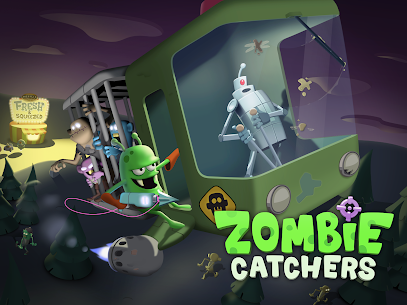 Zombie Catchers Mod 1.30.5 Apk [Unlimited Money] 1
