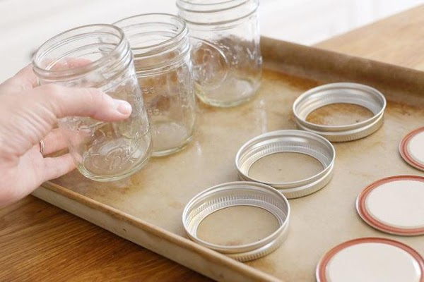 While fruit is boiling, sterilize jelly glasses as directed by manufacturer. I keep mine...
