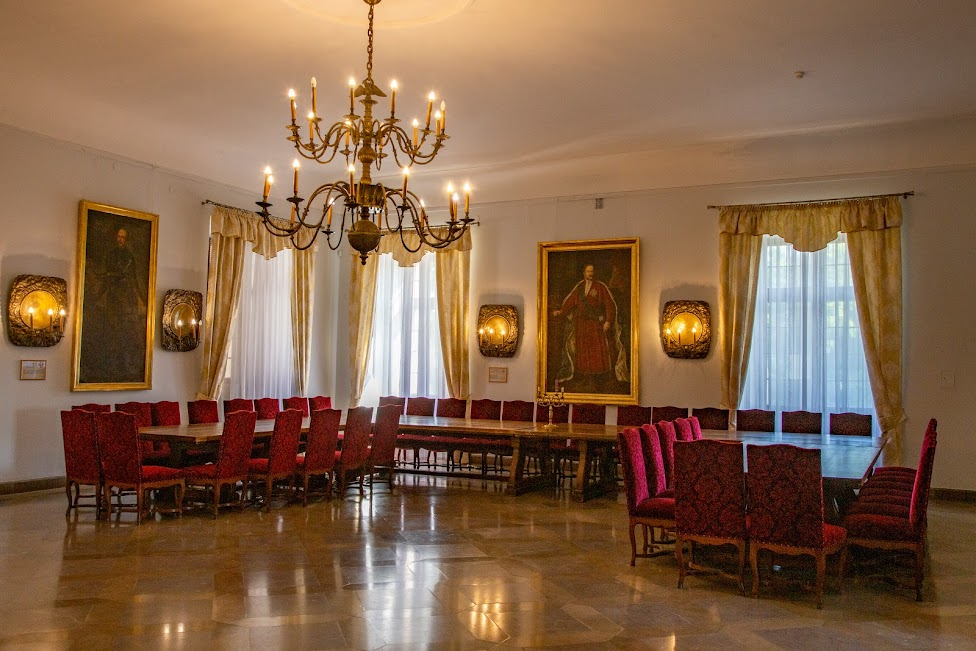 wnętrza zamku, Baranów Sandomierski