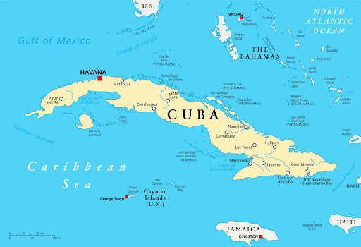 Map-of-Cuba-Graphic.jpg - Havana, Cuba, is just 228 miles from Miami.