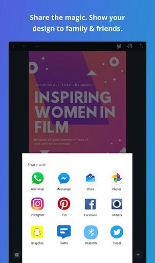 Canva: Graphic Design, Video, Invite & Logo Maker apkmr screenshots 13