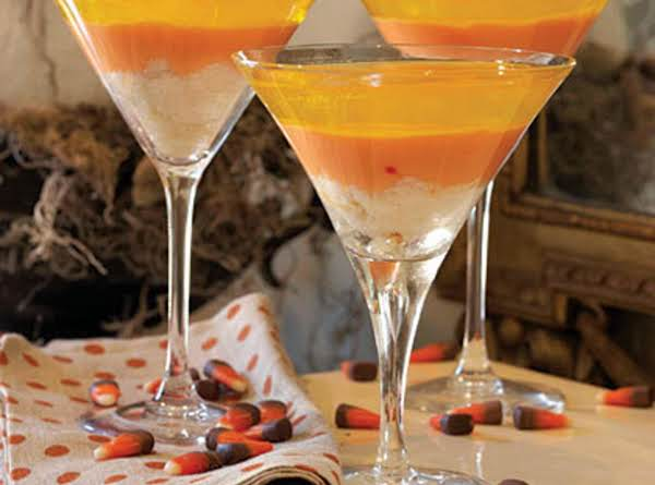 Candy Corn Trifles Recipe