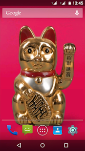 Free Download Maneki Neko - Lucky Cat LWP APK for Android