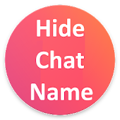 Hide/fake Chat Name for tinder