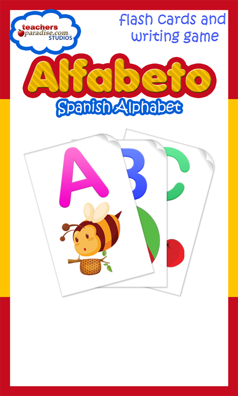 Alfabeto Spanish Alphabet- screenshot