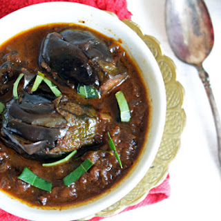 Brinjal Side Dish best to be paired up with Biryani.