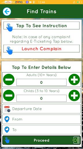 Pakistan Railways Official Apk apps 5